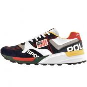 Ralph Lauren Track Star 100 Trainers White